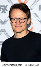LOS ANGELES - AUG 3:  Damon Herriman at the FX TCA Starwalk - Summer 2018 on the Beverly Hilton Hotel on August 3, 2018 in Beverly Hills, CA