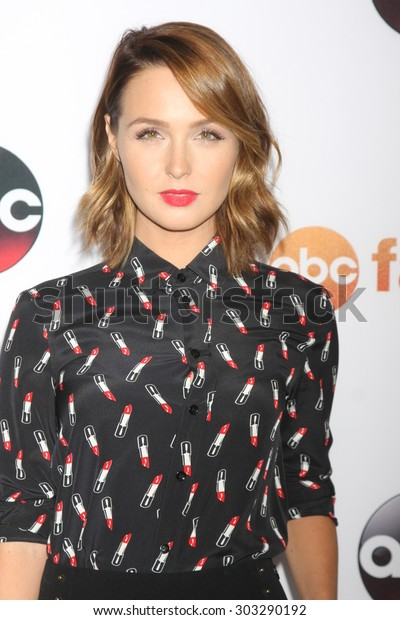 LOS ANGELES - AUG 4:  Camilla Luddington at the ABC TCA Summer Press Tour 2015 Party at the Beverly Hilton Hotel on August 4, 2015 in Beverly Hills, CA
