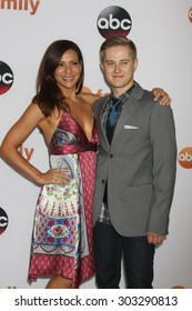 LOS ANGELES - AUG 4:  Constance Marie, Lucas Grabeel at the ABC TCA Summer Press Tour 2015 Party at the Beverly Hilton Hotel on August 4, 2015 in Beverly Hills, CA