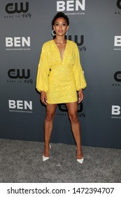 LOS ANGELES - AUG 4:  Samantha Logan at the  CW Summer TCA All-Star Party at the Beverly Hilton Hotel on August 4, 2019 in Beverly Hills, CA
