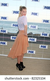 LOS ANGELES - AUG 5:  Heather Morris arriving at the FOX TCA Summer 2011 Party at Gladstones on August 5, 2011 in Santa Monica, CA