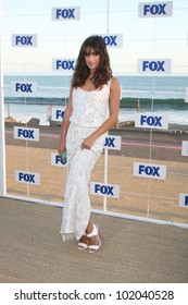 LOS ANGELES - AUG 5:  Lea Michele arriving at the FOX TCA Summer 2011 Party at Gladstones on August 5, 2011 in Santa Monica, CA