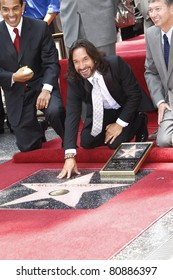 LOS ANGELES - AUG 5: Marco Antonio Solis at the Walk of Fame ceremony where he receives the 2415th in Los Angeles, California on August 5, 2010