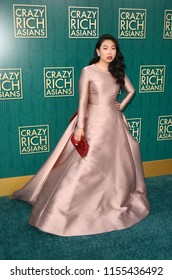 """LOS ANGELES - AUG 7:  Awkwafina at the """"Crazy Rich Asians"""" Premiere  at the TCL Chinese Theater IMAX on August 7, 2018 in Los Angeles, CA"""