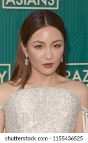 """LOS ANGELES - AUG 7:  Constance Wu at the """"Crazy Rich Asians"""" Premiere  at the TCL Chinese Theater IMAX on August 7, 2018 in Los Angeles, CA"""