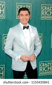 """LOS ANGELES - AUG 7:  Henry Golding at the """"Crazy Rich Asians"""" Premiere  at the TCL Chinese Theater IMAX on August 7, 2018 in Los Angeles, CA"""