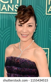 """LOS ANGELES - AUG 7:  Michelle Yeoh at the """"Crazy Rich Asians"""" Premiere  at the TCL Chinese Theater IMAX on August 7, 2018 in Los Angeles, CA"""