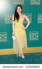 """LOS ANGELES - AUG 7:  Victoria Loke at the """"Crazy Rich Asians"""" Premiere  at the TCL Chinese Theater IMAX on August 7, 2018 in Los Angeles, CA"""