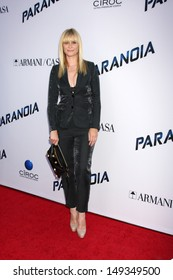 """LOS ANGELES - AUG 8:  Bonnie Somerville arrives at the """"Paranoia"""" Los Angeles Premiere at the Directors Guild of America on August 8, 2013 in Los Angeles, CA"""