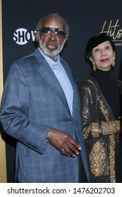 """LOS ANGELES - AUG 8:  Clarence Avant, Jacqueline Avant at the """"Hitsville: The Making Of Motown"""" Premiere at the Harmony Gold Theater on August 8, 2019 in Los Angeles, CA"""