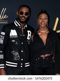 """LOS ANGELES - AUG 8:  JAMESDAVIS, Auston Reynolds, Jess Reynolds at the """"Hitsville: The Making Of Motown"""" Premiere at the Harmony Gold Theater on August 8, 2019 in Los Angeles, CA"""