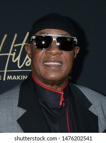 """LOS ANGELES - AUG 8:  Stevie Wonder at the """"Hitsville: The Making Of Motown"""" Premiere at the Harmony Gold Theater on August 8, 2019 in Los Angeles, CA"""