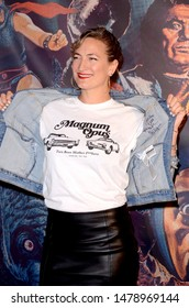 LOS ANGELES - AUG 8:  Zoe Bell at the Alamo Drafthouse Los Angeles Big Bash Party at the Alamo Drafthouse on August 8, 2019 in Los Angeles, CA