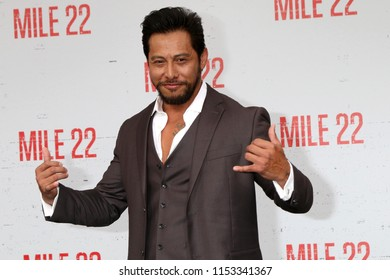 """LOS ANGELES - AUG 9:  Sam Medina at the """"Mile 22"""" Premiere at the Village Theater on August 9, 2018 in Westwood, CA"""