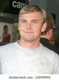 "LOS ANGELES - AUGUST 11: Rick Schroeder arriving at the ""40 Year Old Virgin"" Premiere at Arc Light Theaters August 11, 2005 in Los Angeles, CA."