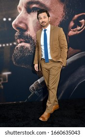 """LOS ANGELES, CA: 01, 2020: Al Madrigal at the world premiere of """"The Way Back"""" at the Regal LA Live.Picture: Paul Smith/Featureflash"""