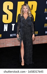 """LOS ANGELES, CA: 27, 2020: Alexandra Vino at the world premiere of """"Spenser Confidential"""" at the Regency Village Theatre.Picture: Paul Smith/Featureflash"""