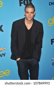 """LOS ANGELES, CA - APRIL 12, 2010: Mark Salling at the """"Glee"""" spring series premiere party at Chateau Marmont, West Hollywood."""