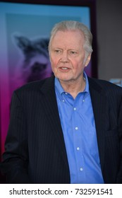 """LOS ANGELES, CA - April 19, 2017: Jon Voight at the world premiere for """"Guardians of the Galaxy Vol. 2"""" at the Dolby Theatre, Hollywood."""