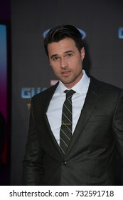 """LOS ANGELES, CA - April 19, 2017: Brett Dalton at the world premiere for """"Guardians of the Galaxy Vol. 2"""" at the Dolby Theatre, Hollywood."""