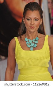 """LOS ANGELES, CA - APRIL 2, 2009: Vanessa Williams at the world premiere of her new movie """"Hannah Montana The Movie"""" at the El Capitan Theatre, Hollywood."""