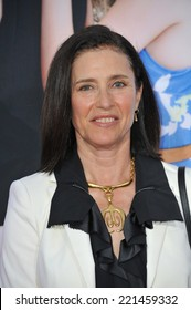 """LOS ANGELES, CA - APRIL 21, 2014: Mimi Rogers at the Los Angeles premiere of """"The Other Woman"""" at the Regency Village Theatre, Westwood."""
