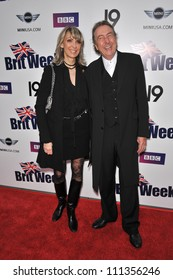 LOS ANGELES, CA - APRIL 23, 2009: Eric Idle & wife at the launch of BritWeek in Los Angeles