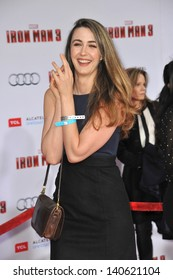 """LOS ANGELES, CA - APRIL 24, 2013: Madeline Zima at the Los Angeles premiere of """"Iron Man 3"""" at the El Capitan Theatre, Hollywood."""