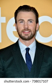 "LOS ANGELES, CA - APRIL 4, 2017: Actor Chris Evans at the premiere for ""Gifted"" at The Grove."