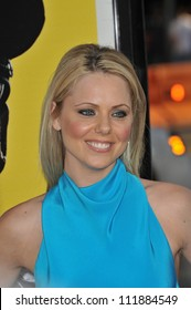 """LOS ANGELES, CA - APRIL 6, 2009: Collette Wolfe at the Los Angeles premiere of her new movie """"Observe and Report"""" at the Grauman's Chinese Theatre, Hollywood."""