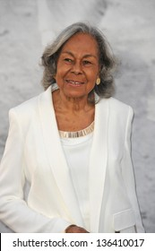 """LOS ANGELES, CA - APRIL 9, 2013: Rachel Robinson, the widow of baseball legend Jackie Robinson, at the premiere of """"42: The True Story of An American Legend"""" at the Chinese Theatre. Picture: Jaguar"""