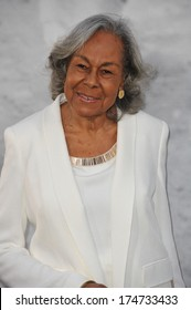 """LOS ANGELES, CA - APRIL 9, 2013: Rachel Robinson, widow of baseball legend Jackie Robinson, at the Los Angeles premiere of """"42: The True Story of An American Legend"""" at the Chinese Theatre, Hollywood"""