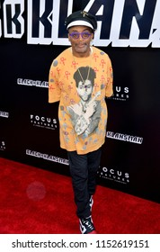 "LOS ANGELES, CA - August 08, 2018: Spike Lee at the Los Angeles premiere of ""BlacKkKlansman"" at the Academy's Samuel Goldwyn Theatre, Beverly Hills"