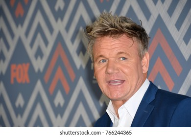 LOS ANGELES, CA. August 08, 2017: Gordon Ramsay at the Fox TCA After Party at Soho House, West Hollywood