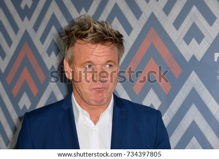LOS ANGELES, CA - August 08, 2017: Gordon Ramsay at the Fox TCA After Party at Soho House, West Hollywood