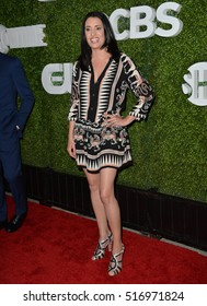 August 10 2016 Actress Paget Brewster At The Cbs