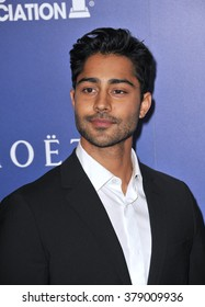 LOS ANGELES, CA - AUGUST 14, 2014: Actor Manish Dayal at the Hollywood Foreign Press Association's annual Grants Banquet at the Beverly Hilton Hotel.