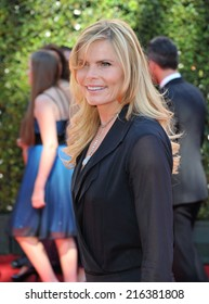 LOS ANGELES, CA - AUGUST 16, 2014: Mariel Hemingway at the 2014 Creative Arts Emmy Awards at the Nokia Theatre LA Live.