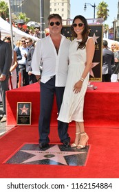 LOS ANGELES, CA. August 22, 2018: Simon Cowell & Lauren Silverman at the Hollywood Walk of Fame Star Ceremony honoring Simon Cowell.