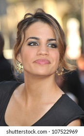 """LOS ANGELES, CA - AUGUST 23, 2010: Natalie Morales at the Los Angeles premiere of her new movie """"Going the Distance"""" at Grauman's Chinese Theatre, Hollywood."""