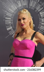 LOS ANGELES, CA - AUGUST 24, 2014: Gwen Stefani at the 2014 MTV Video Music Awards at the Forum, Los Angeles.