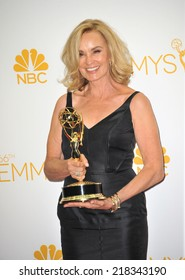LOS ANGELES, CA - AUGUST 25, 2014: Jessica Lange at the 66th Primetime Emmy Awards at the Nokia Theatre L.A. Live downtown Los Angeles.