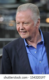 """LOS ANGELES, CA - AUGUST 26, 2013: Jon Voight at the premiere of his movie """"Getaway"""" at the Regency Village Theatre, Westwood."""