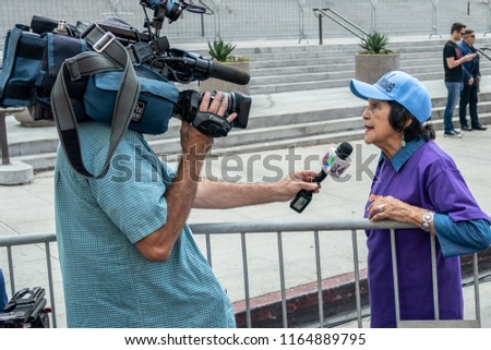 LOS ANGELES CA AUGUST 26 2018 Stock Image | Download Now