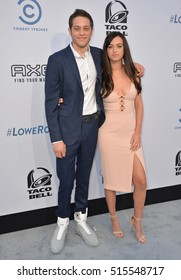 LOS ANGELES, CA. August 27, 2016: Actor Pete Davidson & girlfriend Cazzie David at the Comedy Central Roast of Rob Lowe at Sony Studios, Culver City.