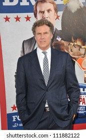 LOS ANGELES, CA - AUGUST 3, 2012: Will Ferrell at the Los Angeles premiere of his movie The Campaign at Grauman's Chinese Theatre, Hollywood.