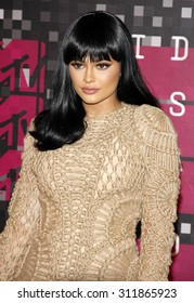 LOS ANGELES, CA - AUGUST 30, 2015: Kylie Jenner at the 2015 MTV Video Music Awards held at the Microsoft Theater in Los Angeles, USA on August 30, 2015.
