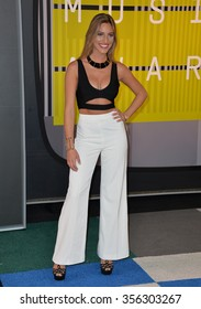 LOS ANGELES, CA - AUGUST 30, 2015: Lele Pons at the 2015 MTV Video Music Awards at the Microsoft Theatre LA Live.