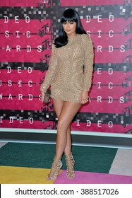 LOS ANGELES, CA - AUGUST 30, 2015: Kylie Jenner at the 2015 MTV Video Music Awards at the Microsoft Theatre LA Live.