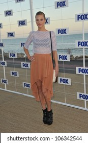 "LOS ANGELES, CA - AUGUST 5, 2011: ""Glee"" star Heather Morris at the Fox TV Summer 2011 All-Star Party at Gladstones Restaurant, Malibu. August 5, 2011  Malibu, CA"